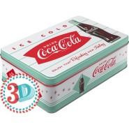 NostalgicArt Metallist säilituskarp Coca-Cola Ice Cold 2.5L