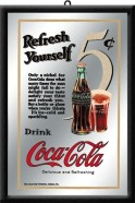 NostalgicArt reklaampeegel Coca-Cola Refresh Yourself
