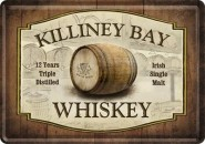 NostalgicArt metallist postkaart Killiney Bay Whiskey