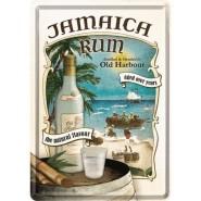 NostalgicArt metallist postkaart Jamaica Rum