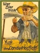 NostalgicArt magnet Wer Bier trinkt
