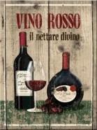 NostalgicArt magnet Vino Rosso