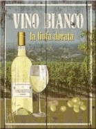 NostalgicArt magnet Vino Bianco