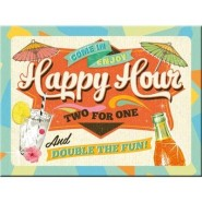 NostalgicArt magnet Happy Hour