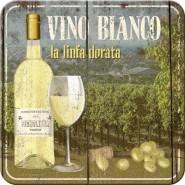 NostalgicArt retro klaasialus Vino Bianco
