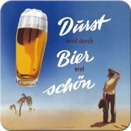 NostalgicArt retro klaasialus Dürst wird durch Bier erst schön
