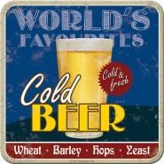 NostalgicArt retro klaasialus Cold Beer