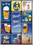 NostalgicArt magnetite sari Bier 9tk