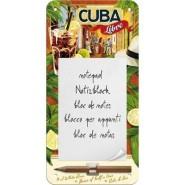 NostalgicArt magnetiga kirjaplokk Cuba Libre