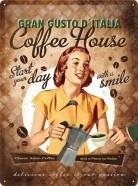 NostalgicArt metallplaat Coffe House