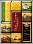 NostalgicArt magnetite sari Coffee & Chocolate 9tk