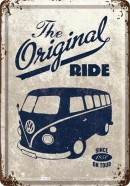 NostalgicArt metallist postkaart VW Bulli The Original Ride
