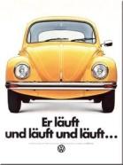 NostalgicArt magnet VW Er läuft und läuft und läuft...