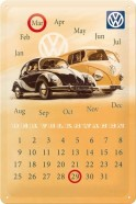 NostalgicArt retro stiilis kalender VW Der Volkswagen