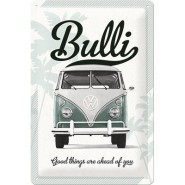 NostalgicArt metallplaat VW Bulli Good things are ahead of you