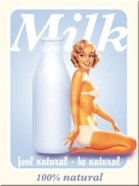 NostalgicArt magnet Milk Feel Natural-Be Natural
