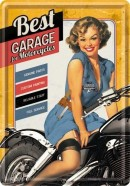 NostalgicArt metallist postkaart Best Garage
