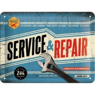 NostalgicArt metallplaat Service & Repair
