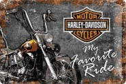 NostalgicArt metallplaat Harley-Davidson My Favorite Ride