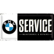 NostalgicArt metallplaat BMW Service