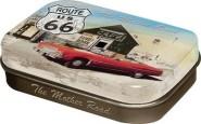 NostalgicArt kurgupastillid Route 66 Punane Auto