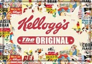 NostalgicArt metallist postkaart Kellogg's The Original collage