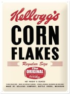 NostalgicArt metallplaat Kellogg's Corn Flakes The Original