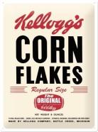 NostalgicArt metallplaat Kellogg's Corn Flakes The Original