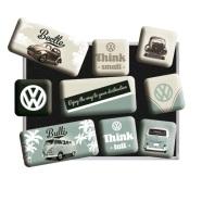 NostalgicArt külmkapimagnetite sari VW Beetle 9tk