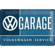 NostalgicArt metallplaat VW Garage