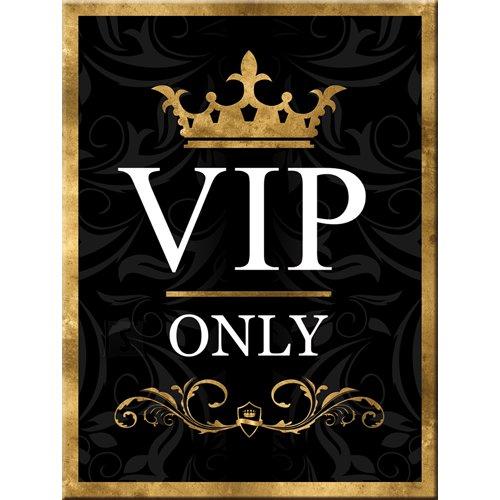 NostalgicArt külmkapimagnet VIP Only