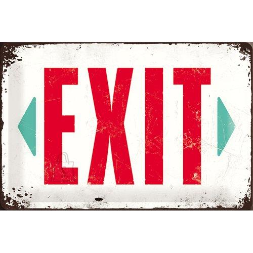 NostalgicArt metallplaat Exit