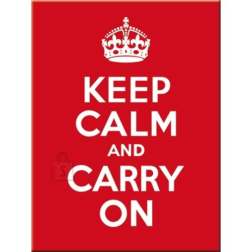 NostalgicArt magnet Keep Calm And Carry On