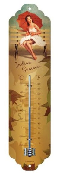 NostalgicArt termomeeter Pin Up Indian Summer