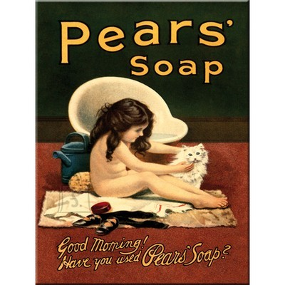 NostalgicArt külmkapimagnet Pears' Soap