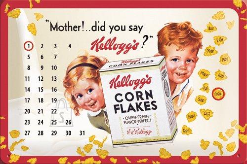 NostalgicArt retro stiilis kalender Kellogg´s