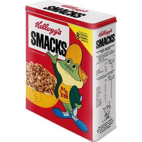 NostalgicArt Metallist säilituskarp Kellogg's Smacks 4 L
