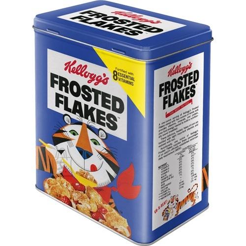 NostalgicArt Metallist säilituskarp Kellogg´s Frosted Flakes Tony Tiger 3L