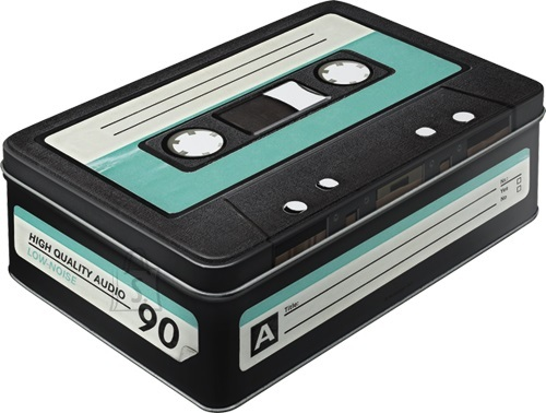 NostalgicArt Metallist säilituskarp High Quality Audio 2.5 L