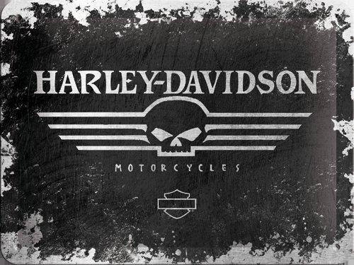 NostalgicArt metallplaat Harley-Davidson