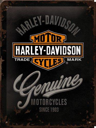 NostalgicArt metallplaat Harley-Davidson Motorcycles