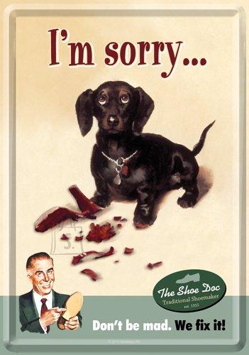NostalgicArt metallist postkaart I'm Sorry...