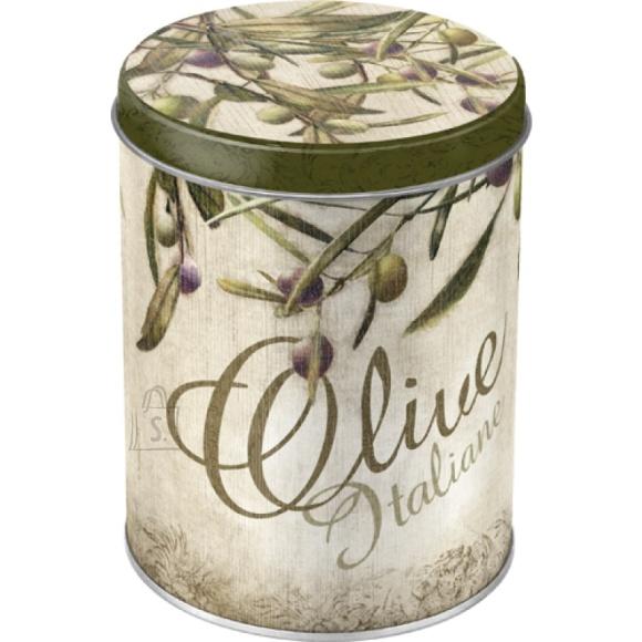 NostalgicArt Metallist säilituspurk Olive Italiane 1L