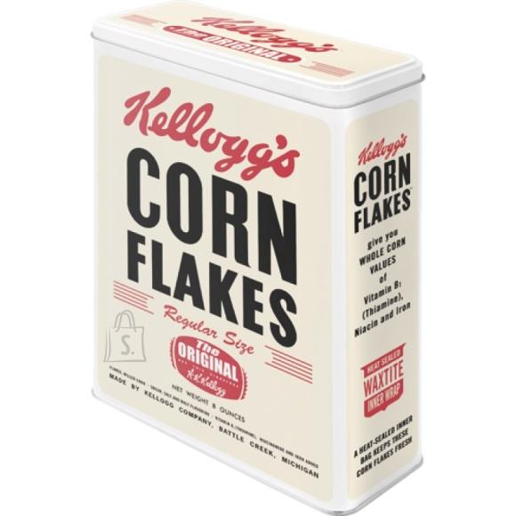 NostalgicArt Metallist säilituskarp Kellogs´s Corn Flakes 4L
