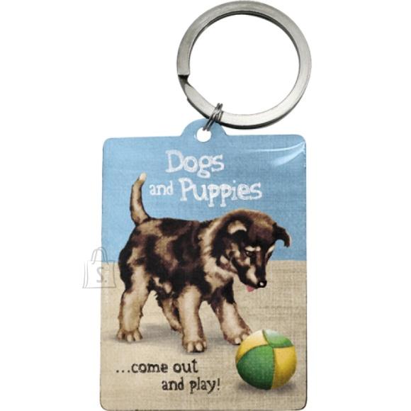 NostalgicArt Võtmehoidja Dogs and Puppies