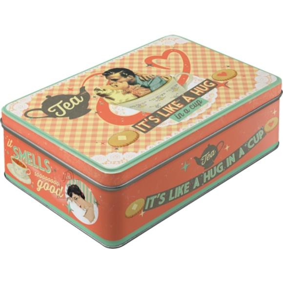 NostalgicArt Metallist säilituskarp Tea 2.5L