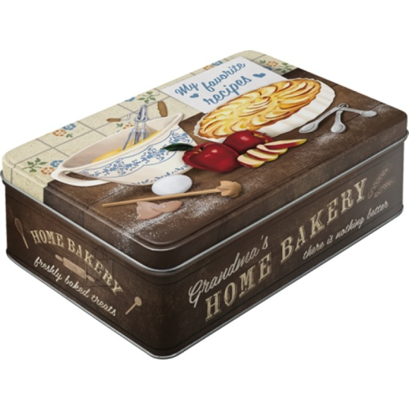 NostalgicArt Metallist säilituskarp Home Bakery 2.5L