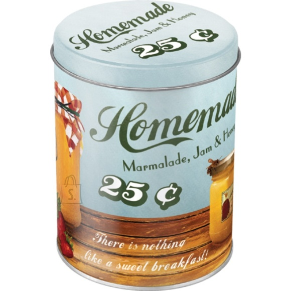 NostalgicArt Metallist säilituspurk Homemade 1L