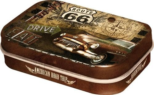 NostalgicArt kurgupastillid Route 66 Drive & Eat