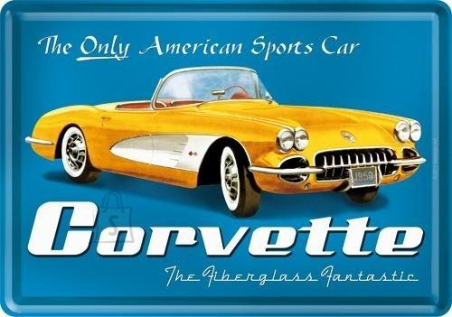 NostalgicArt metallist postkaart Corvette